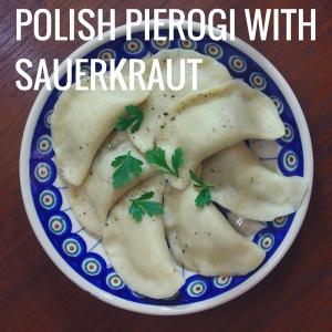 POLISH PIEROGI WITH SAUERKRAUT